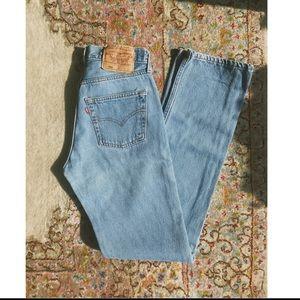 """Vintage Levi's 501 jeans 27"""" / 34"""" LONG"""